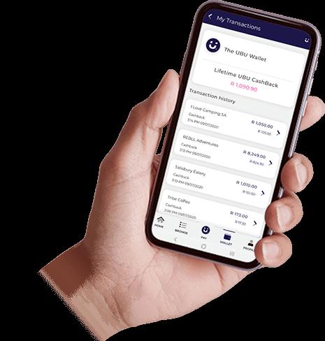 Ubu Wallet on mobile